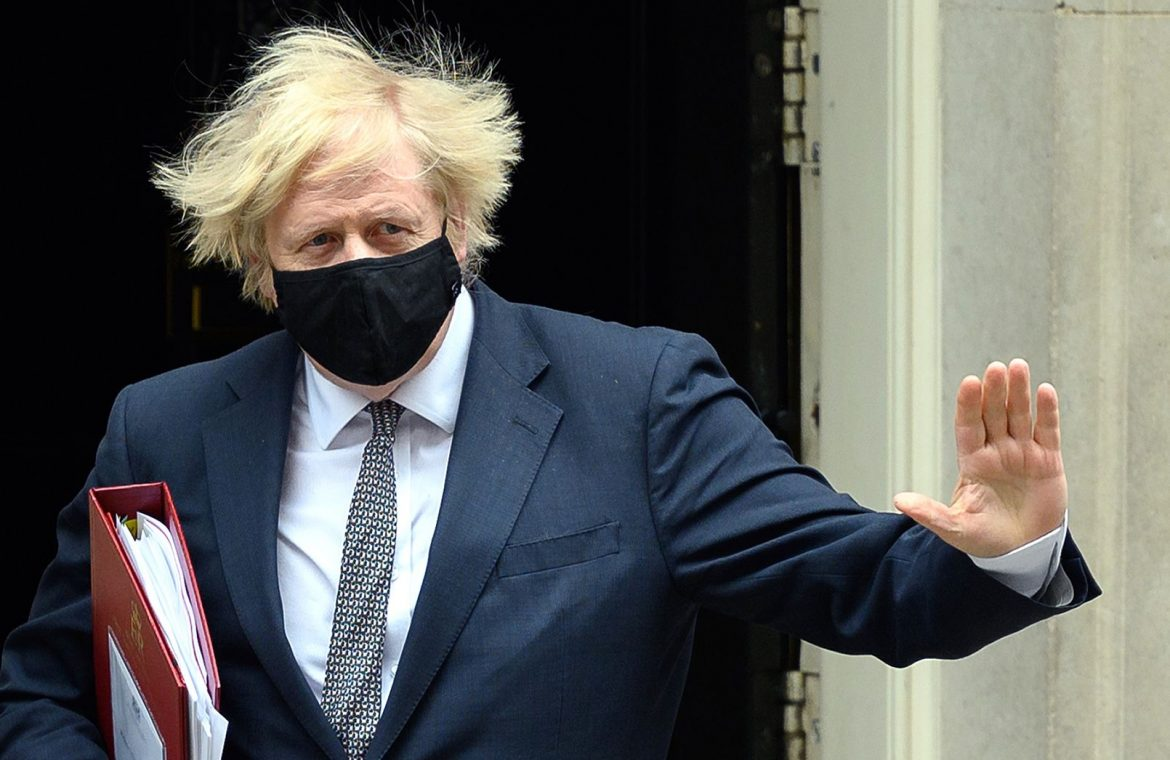Liberalization of Restrictions in Great Britain.  Johnson: I'll be able to go to the barber in a few days