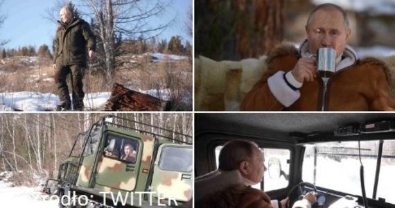 Władimir Putin spędza weekend na Syberii. Prezydent Rosji odpoczywa w towarzystwie ministra obrony Siergieja Szojgu.