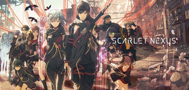 Scarlet Nexus has a release date.  Bandai Namco introduces the trailer and advertises the anime
