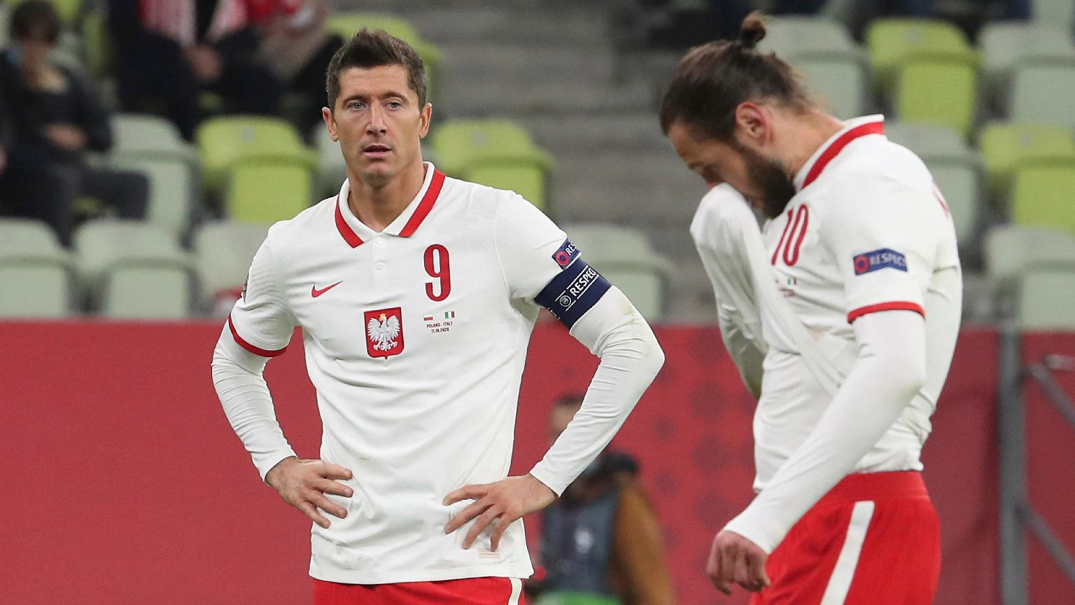 The values ​​of the Germans are Robert Lewandowski.