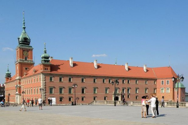 The Royal Castle in Warsaw prepares for the Jubilee movie