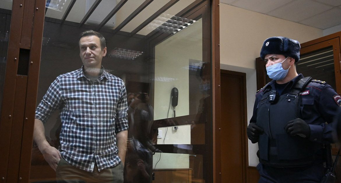 The United States imposed sanctions on Russia under Navalny