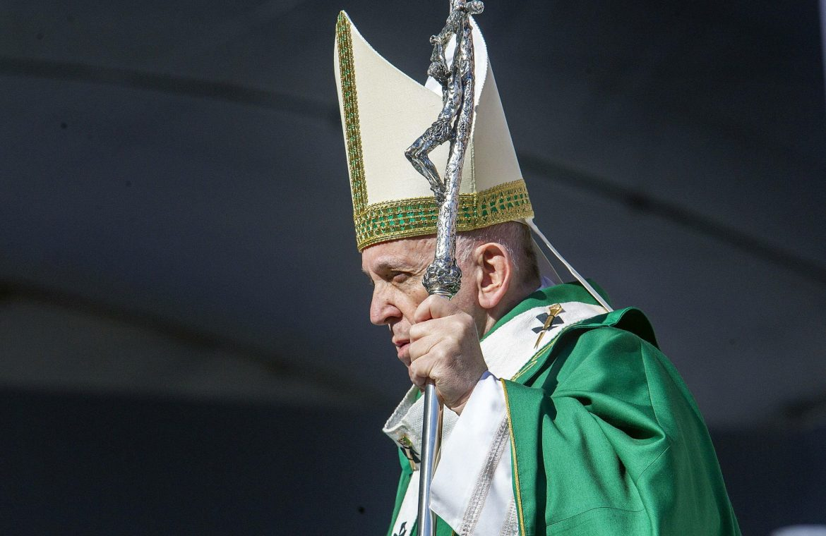 The Vatican published Pope Francis' Holy Week plan