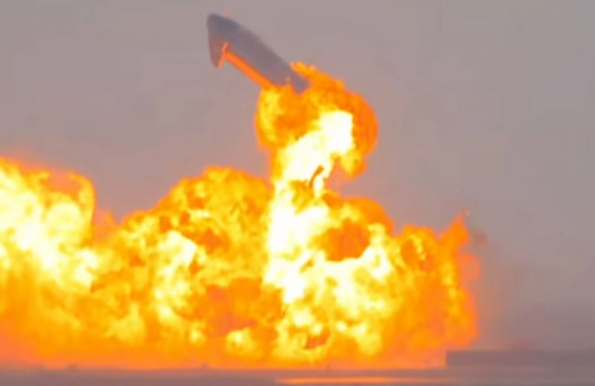 The explosion of the SpaceX spacecraft was really powerful.  Weather radars recorded for her
