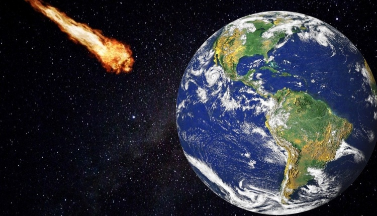 """The powerful asteroid 2001 FO32 passed Earth.  It was """"close"""" - it was located about 2 million kilometers from our planet"""