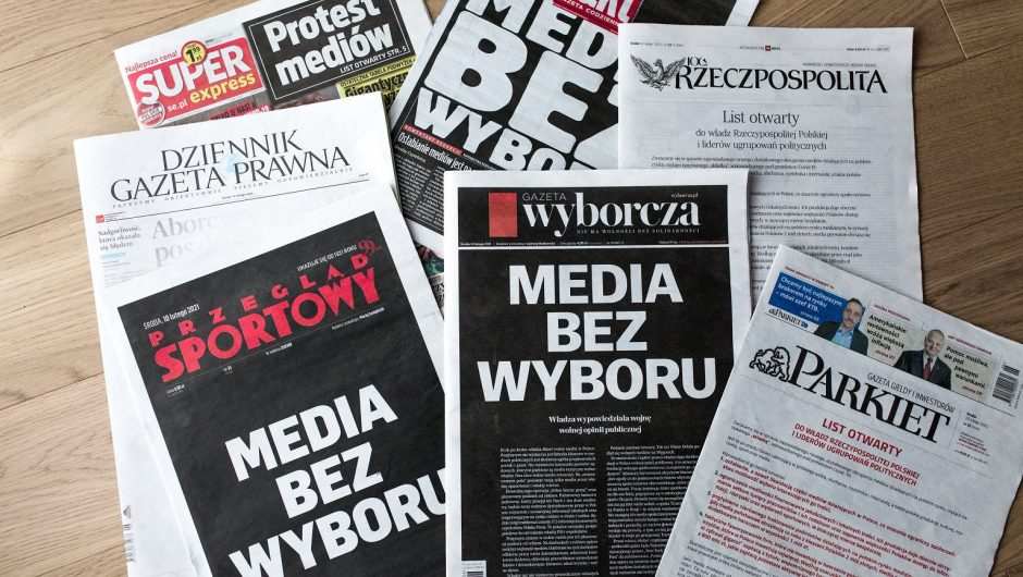 US Embassy in Poland regarding the tax on ads and focus on the media.  We are concerned  News from the world