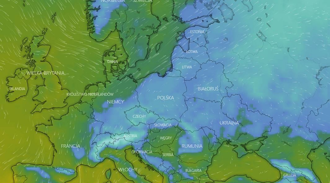 """the weather.  """"Jzor chodu"""" will hit Poland on the first day of spring"""