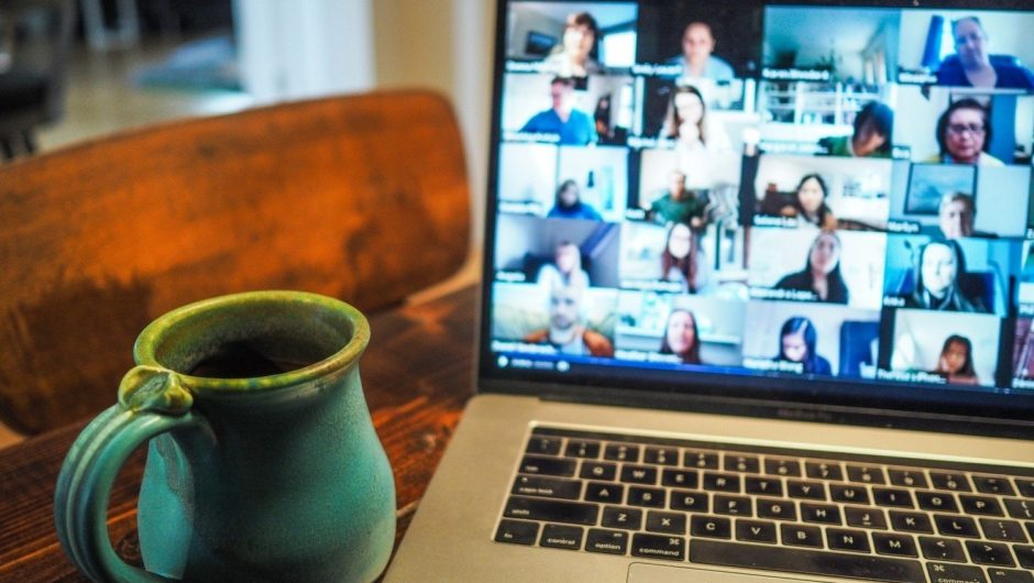 10 ideas for setting up a background for an online conversation.  We can deal with the lack of space