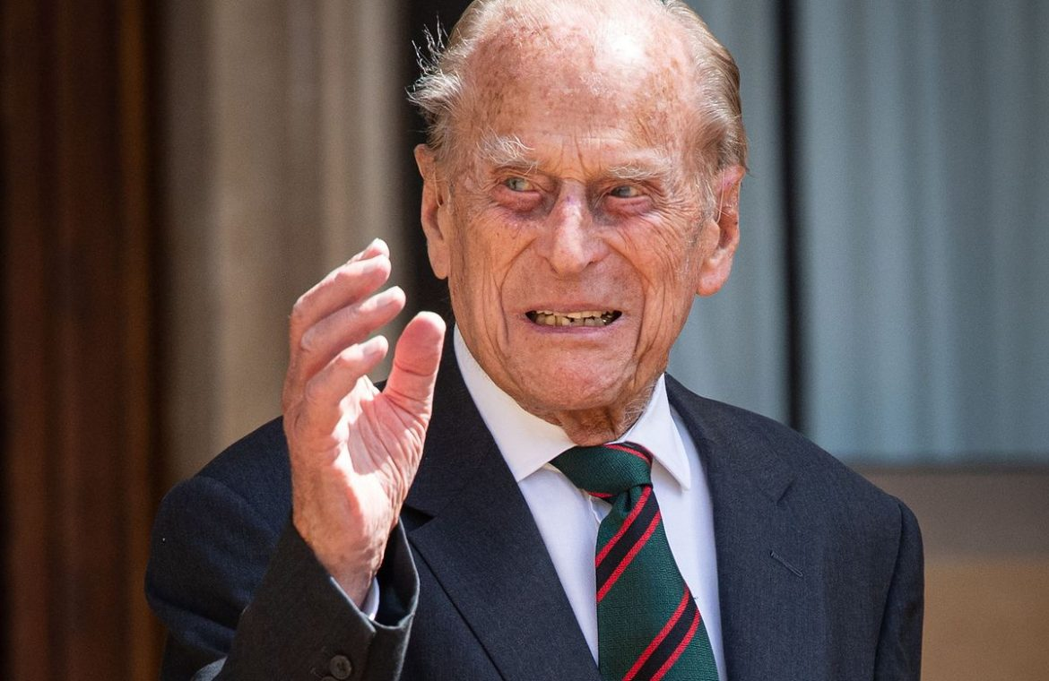 Prince Philip is dead.  He passed away at the age of 99