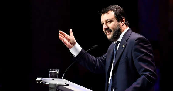 Former Italian Deputy Prime Minister Matteo Salvini on trial.  It is about immigration detention