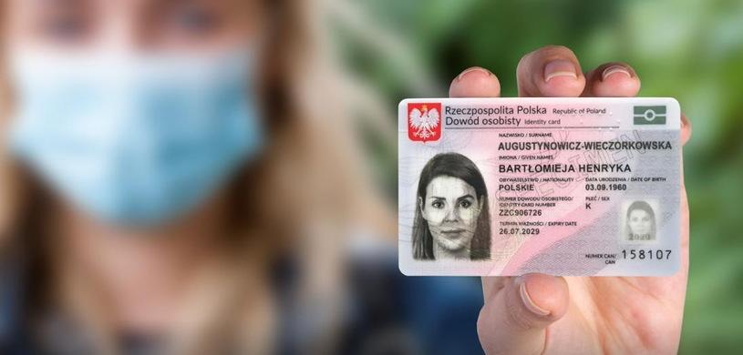 New ID card.  Gov.pl Photo / Press Materials