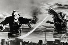 King Kong vs Godzilla - a frame from the movie