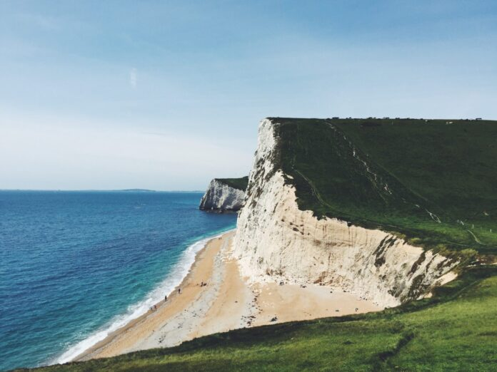 Cliffs next to the sea