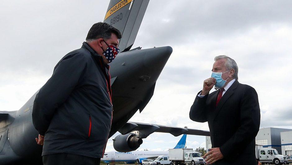 Biden versus Putin.  The American ambassador flies from Russia