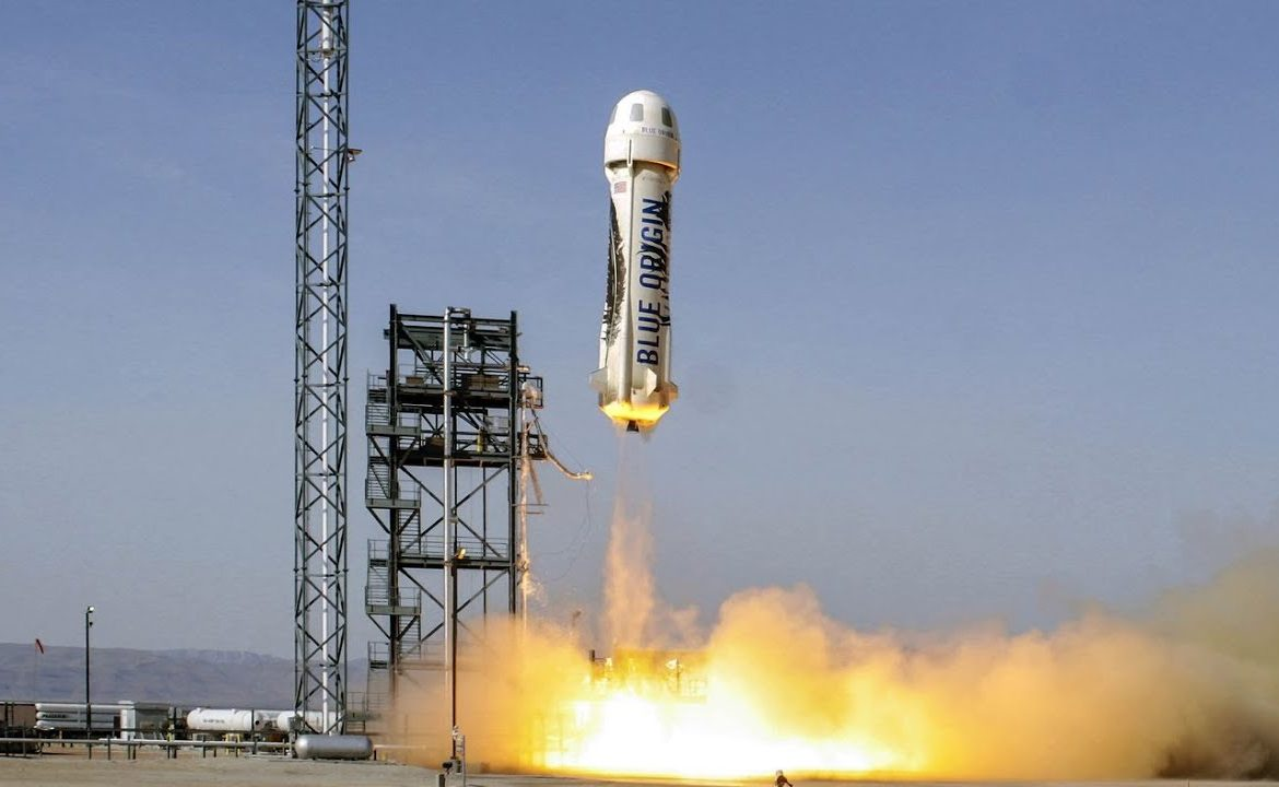 Blue Origin - a competitor of SpaceX, tested the New Shepard - PC World manned missile