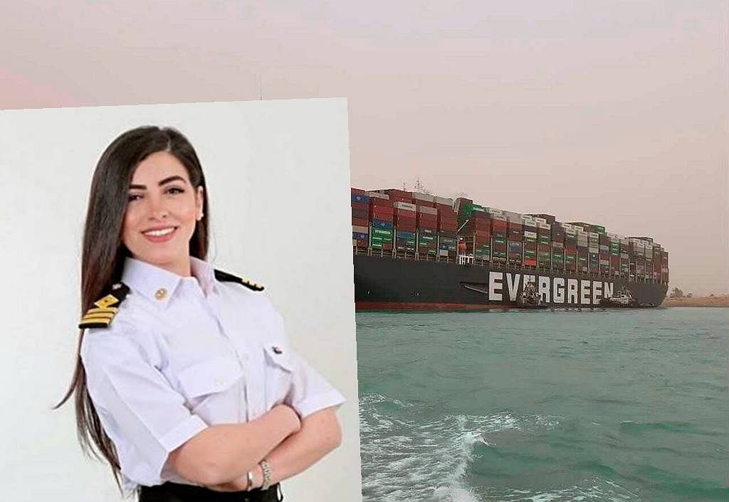 """Captain Marwa Al-Sulaydar was accused of obstructing the Suez Canal.  """"I was shocked"""""""