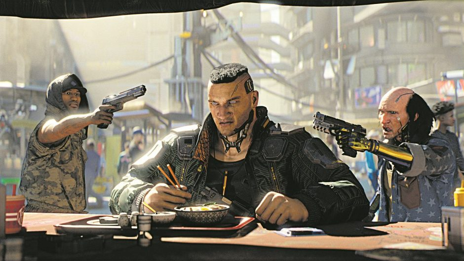 Cyberpunk 2077 with new update.  CD Projekt intends to further develop the game