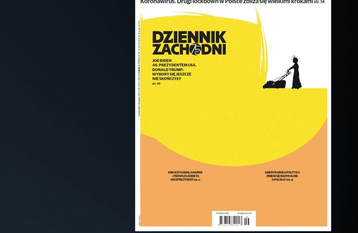 Dzenik Zakudny's cover with Donald Trump awarded in the USA.  Chapter: Minimal, Splendid, and Original