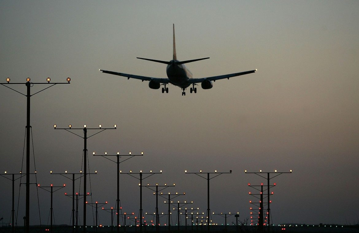 Flights over Ukraine and Russia.  The United States recommends special caution
