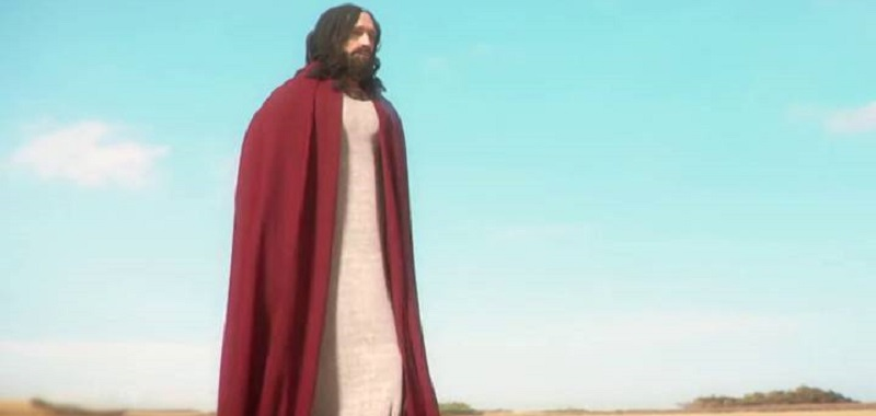 I am Jesus Christ in the Easter trailer.  Creative people offer therapy and walk on water