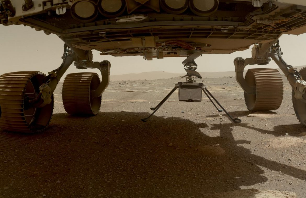 NASA delivers drone ingenuity on Mars.  It's almost ready, but the historic journey is late