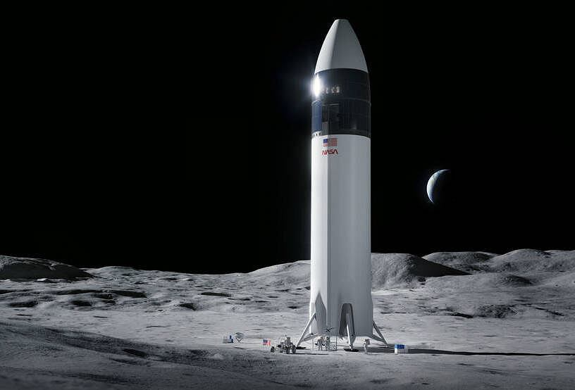 NASA is betting on SpaceX.  Elon Musk will prepare a manned ship to land on the moon