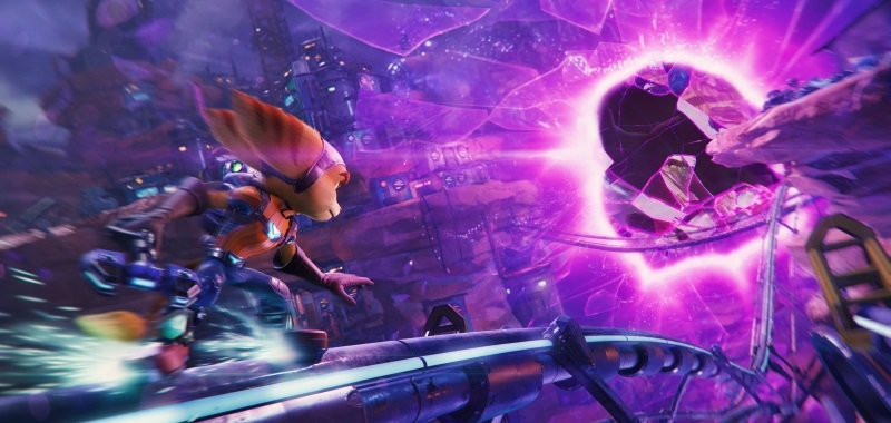 Ratchet & Clank: Rift Apart with standard fast loading.  The game will not receive exact transactions