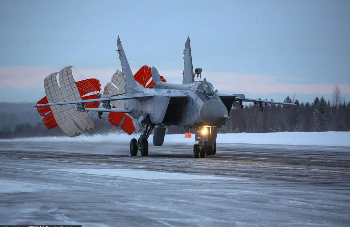 Russia picked up hypersonic fighters.  These are the next steps in the Arctic
