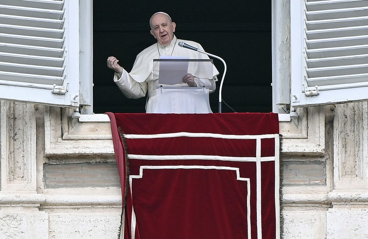 Strong voice from the Vatican.  The Pope responds to Ukraine