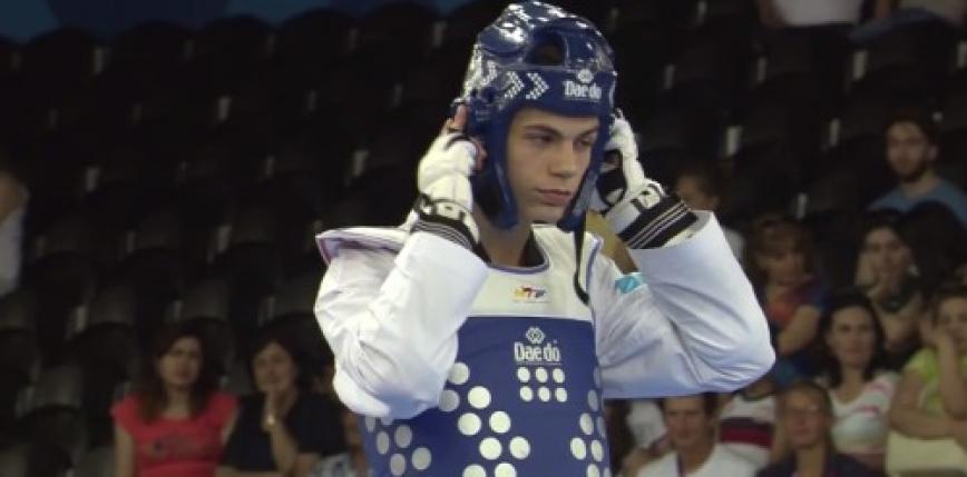 Taekwondo - European Championship: Karol Robak's gold medal!