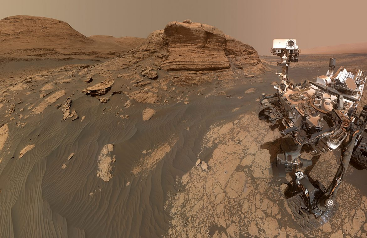 The Curiosity rover cannot be forgotten.  You just uploaded a 318MP selfie from Mars