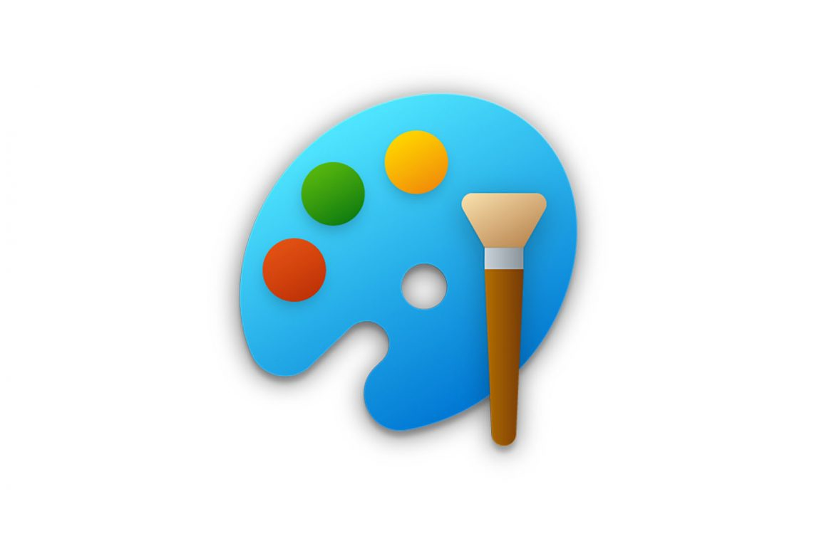 The classic Microsoft Paint program will be developed.  First, a new icon