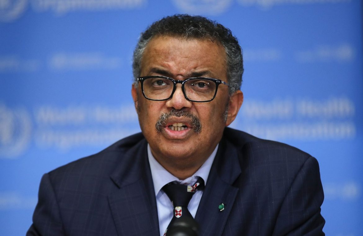"""WHO chief warns: """"infections and deaths are increasing at an alarming rate"""""""