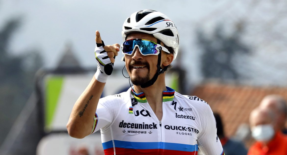 Walloon Arrow: Julian Alaphilippe won for the third time |  Cycling