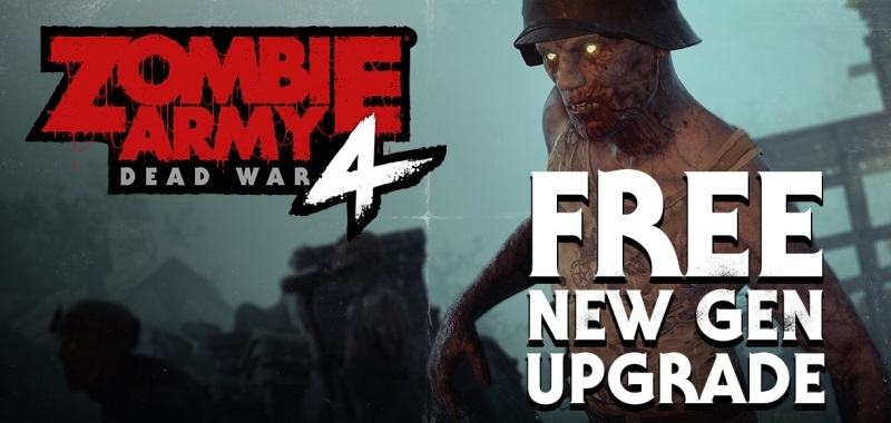 Zombie Army 4 with Next Generation Update.  Only Xbox Series X will offer 120fps gameplay