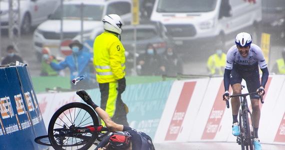 Tour de Romandi.  Woods' Triumph, Thomas Incident