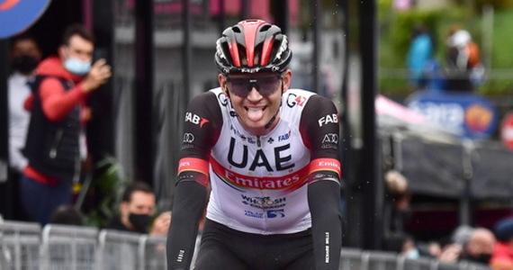 Amerykanin Joe Dombrowski z UAE Team Emirates wygrał w miejscowości Sestola czwarty etap wyścigu kolarskiego Giro d