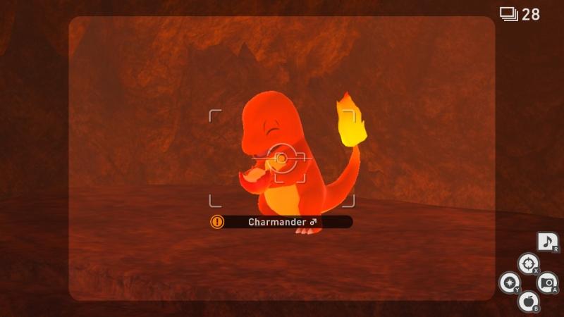 New Pokemon Snap --Charmander review