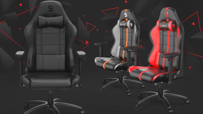 SPC Gear SR400 - Nowa seria gamingowych foteli już w sprzedaży. Kilka kolorów oraz wersje z tkaniną lub skórą PU [1]