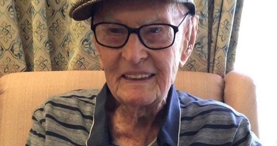 The 111-year-old Australian reveals the secret of longevity