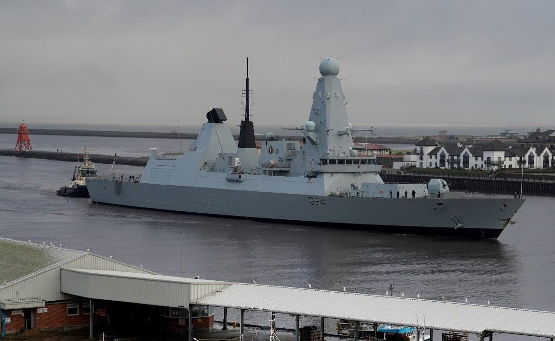 Niszczyciel rakietowy typu 45 – takiej klasy okręt RN wysyła na Morze Czarne (fot. Owen Humphreys/PA Images via Getty Images)
