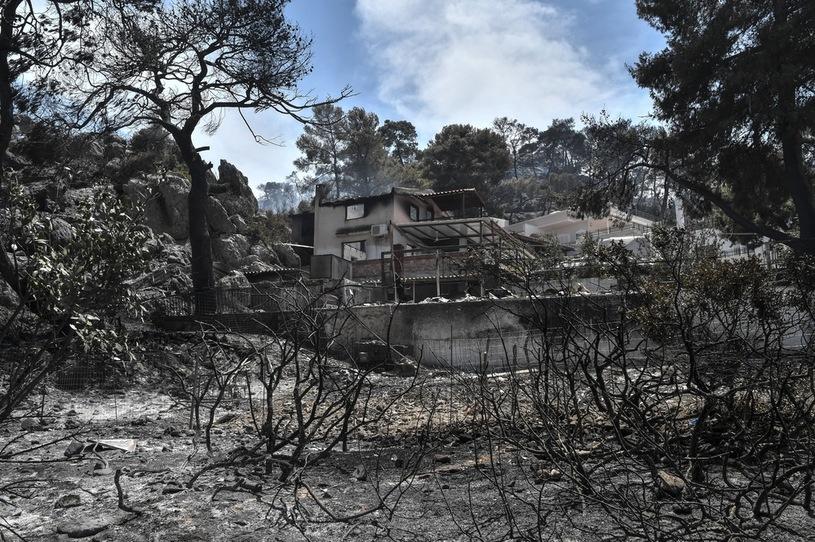 Fire damage / AFP
