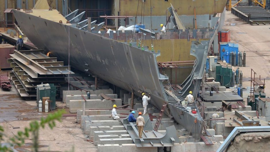 China is building a copy of Titanic.  It is meant to be a tourist attraction