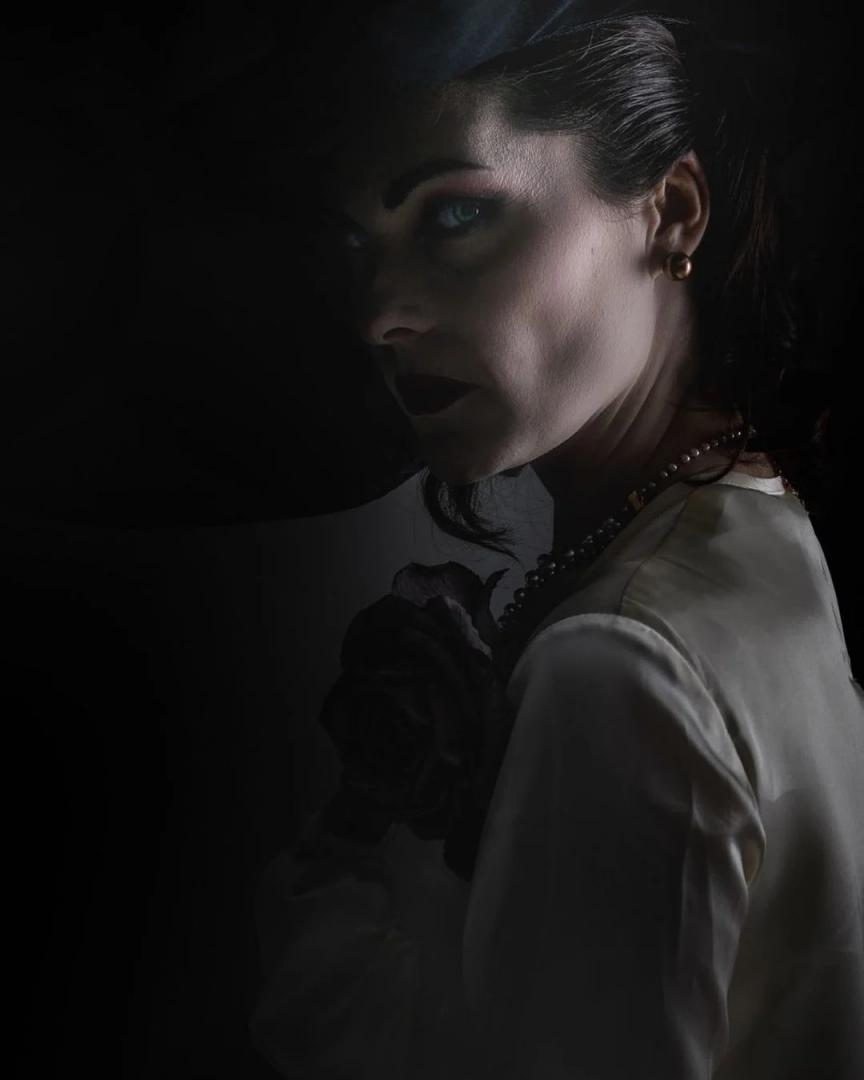 Village Resident Evil with the real lady Dimitrisko - Helena Mykowska - 2