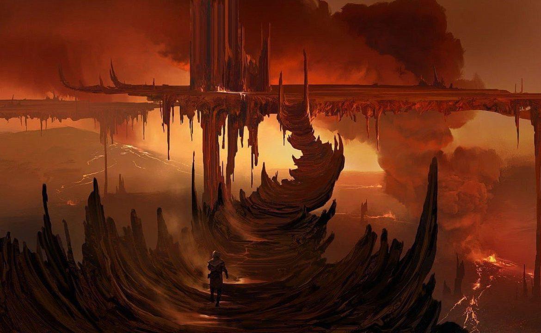 AC: Valhalla - In DLC we can visit Muspelheim bonfires
