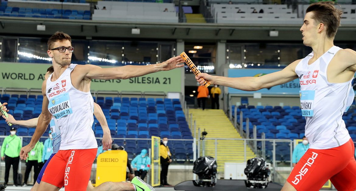 Athletics.  4 x 400m men's relay without Olympic qualifiers