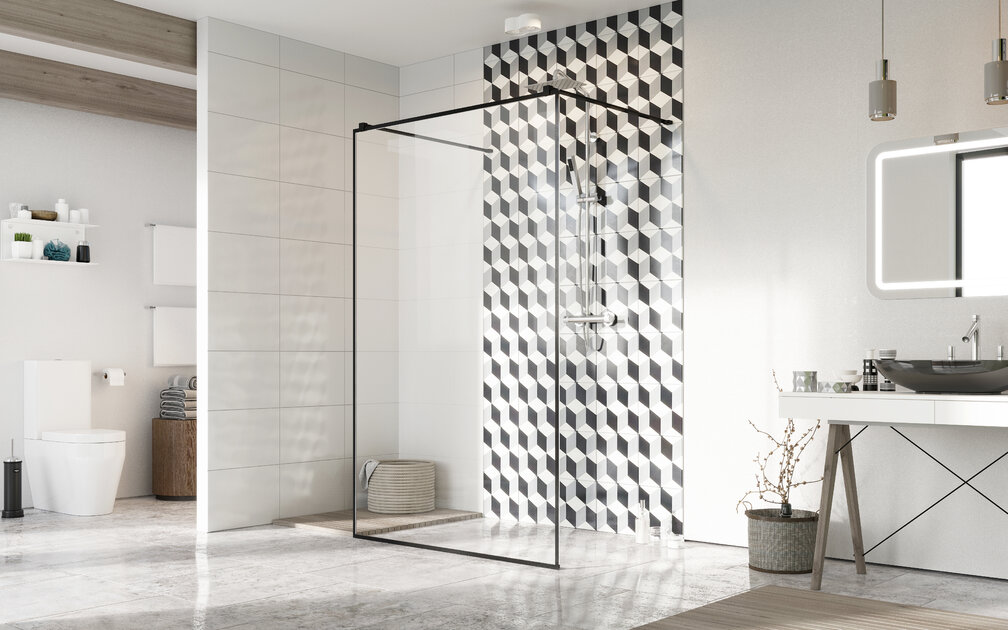 Barrier-free shower area - infoWire.pl