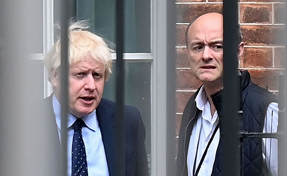 British Rasputin cheats on Boris Johnson.  The whole of Europe - politics is following with fear the revelations of the former prime minister's advisor