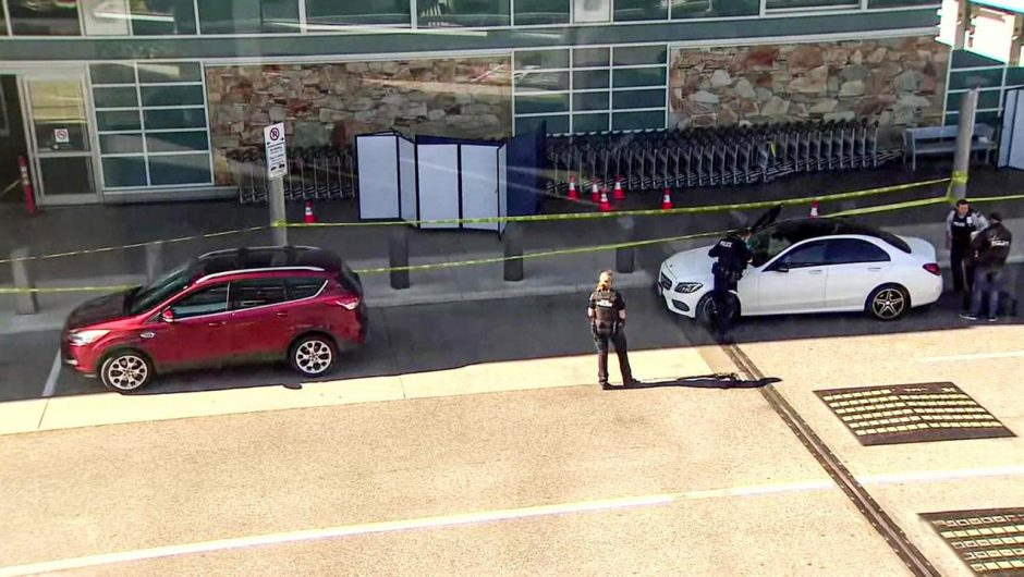 Canada.  A shootout at Vancouver Airport.  One person died