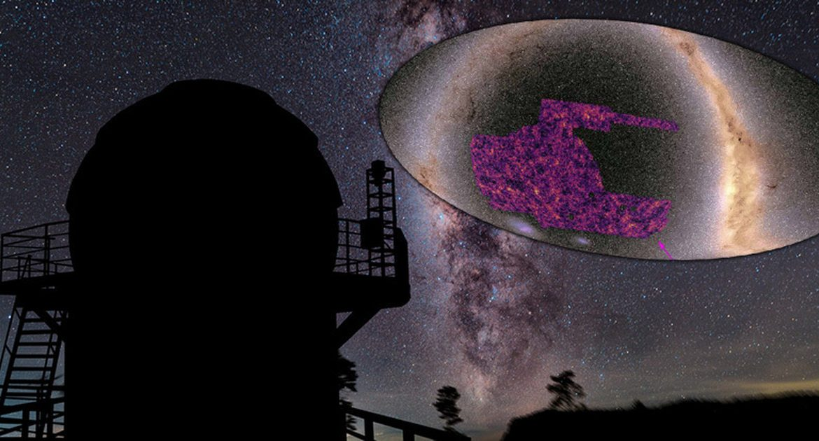 Cosmos.  Dark matter - a new map of its distribution